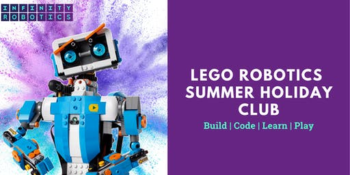 Lego Robotics Summer Holiday Club - Dalmeny Church Hall