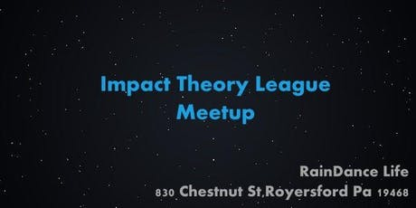 Impact Theory League Meetup with Genia and Jesse tickets