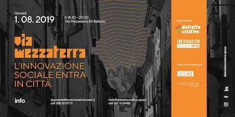 MEZZATERRA, L'INNOVAZIONE SOCIALE ENTRA IN CITTA' biglietti