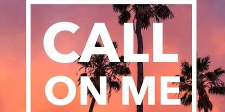 """""""Call on Me"""" music video shoot Casting Call  tickets"""