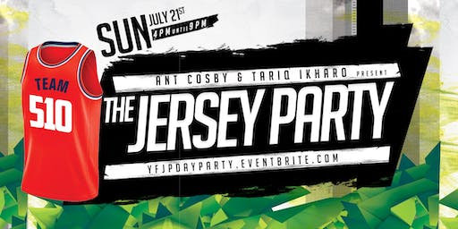 """YFJP """"Your Favorite Jersey Party"""