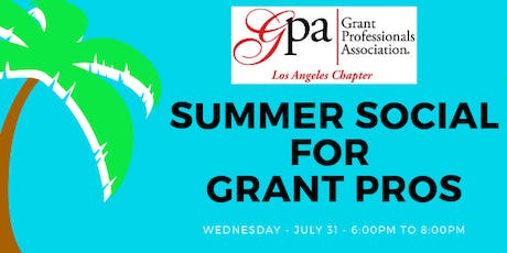 Summer Social for Grant Professionals tickets