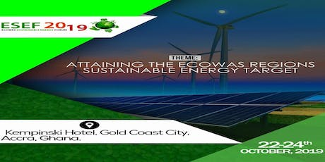 ECOWAS Sustainable Energy Forum - ESEF 2019 tickets