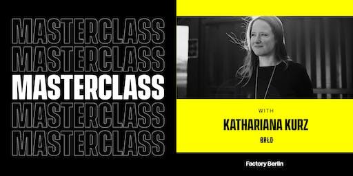 Brewing The BRLO Brand: Masterclass with Katharina Kurz