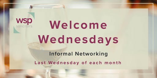 Welcome Wednesdays - 28th August 2019