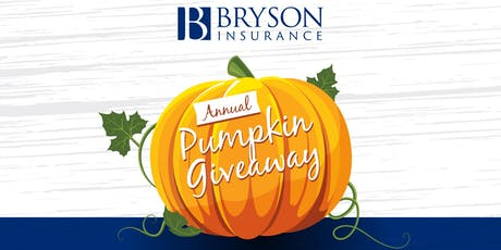 12th Annual Halloween Pumpkin Giveaway tickets
