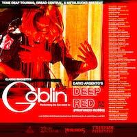 Claudio Simonetti's Goblin performing the live score to Dario Argento's classic film, Deep Red / Profondo Rosso