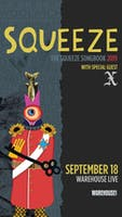 Squeeze - The Songbook Tour - with X
