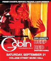 *Claudio Simonetti's Goblin: Performing the live score to Deep Red (Profondo Rosso)
