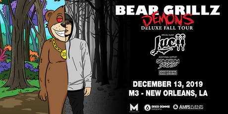 BEAR GRILLZ - Live at The Metropolitan New Orleans tickets