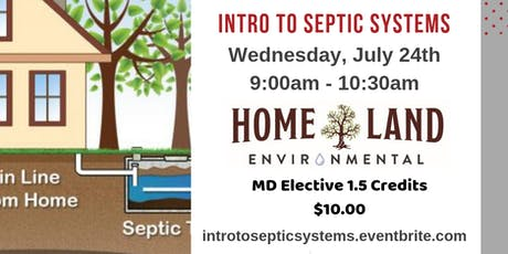 Intro To Septic Systems tickets