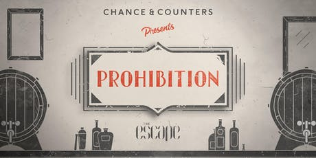 Chance & Counters presents: Prohibition! (Bath) tickets