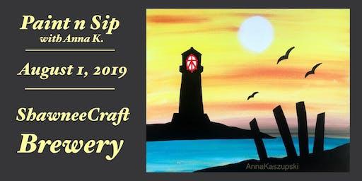Paint n Sip- Lighthouse
