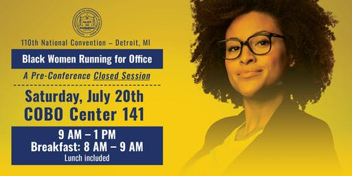 NAACP Convention - Black Women Running For Office Session