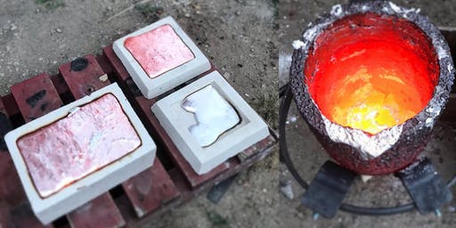 555 Arts - Iron Ages- Foundry Scratch Blocks - Bronze Casting