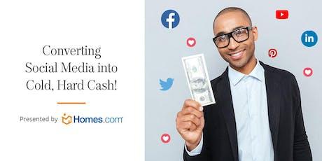 Converting Social Media Into Cold, Hard Cash - Atlanta tickets