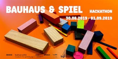 """Hackathon """"Bauhaus und Spiel"""" Tickets"""