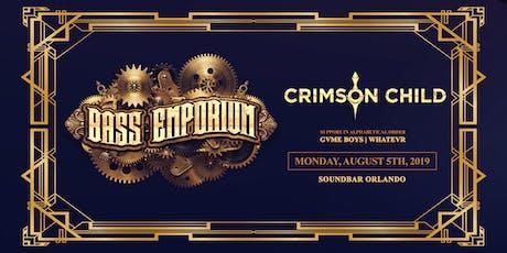 The Bass Emporium Presents Crimson Child tickets