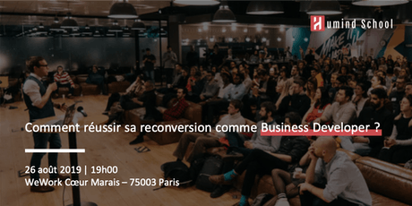 Comment réussir sa reconversion comme Business Developer billets