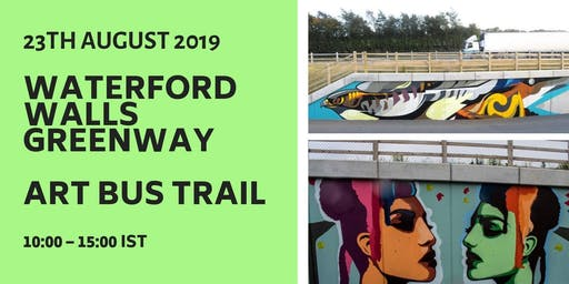 Waterford Walls Greenway Art  Bus Trail