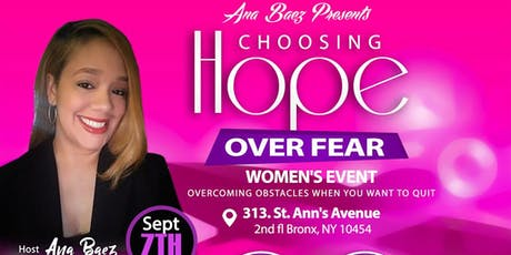 Choosing Hope Over Fear tickets