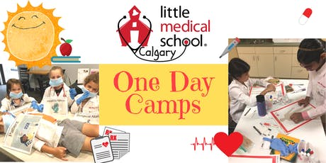 Little Medical School - One Day Camps July 29 to Aug 2 (Ages 6-12) tickets