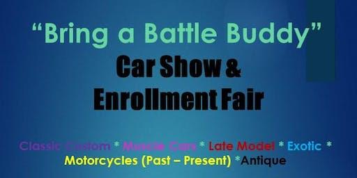 """""""Bring a Battle Buddy"""" Car Show and Enrollment Fair"""