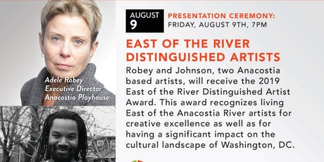 East Of The River | Distinguished Artists Award  tickets