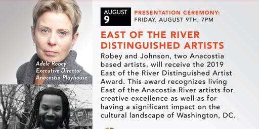 East Of The River   Distinguished Artists Award