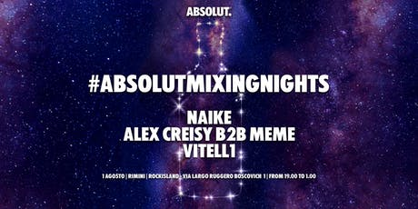 #AbsolutMixingNights Rimini tickets
