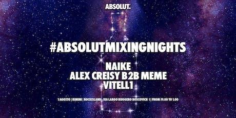 #AbsolutMixingNights Rimini biglietti