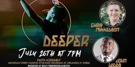 Deeper - Orlando, FL  tickets