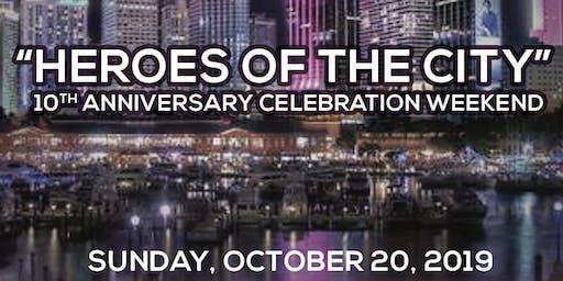 Corporate- MCI 10th Year Anniversary Weekend Celebration Package: - (VIP Weekend Package Reserves 6)