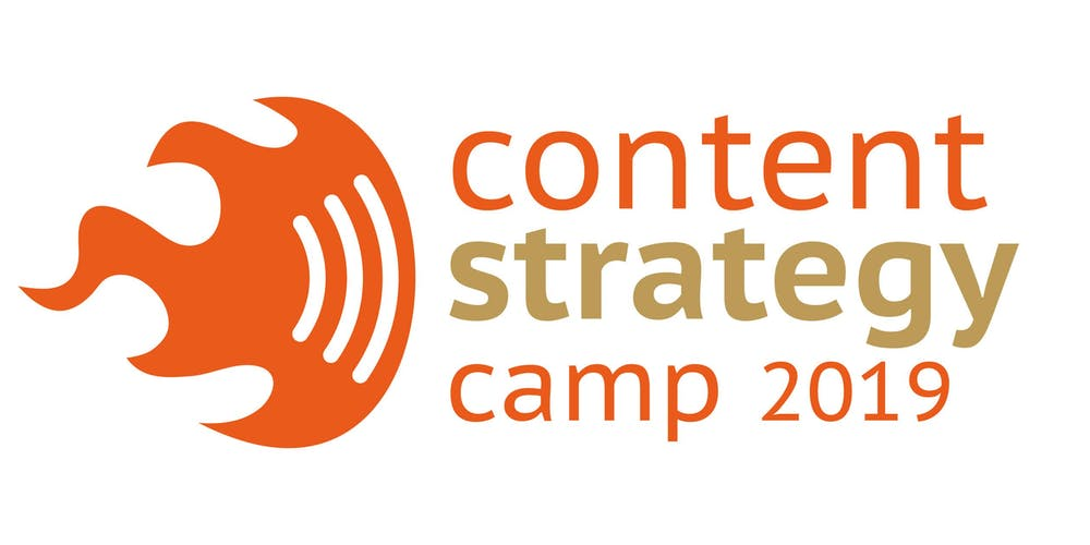 Content Strategy Camp 2019