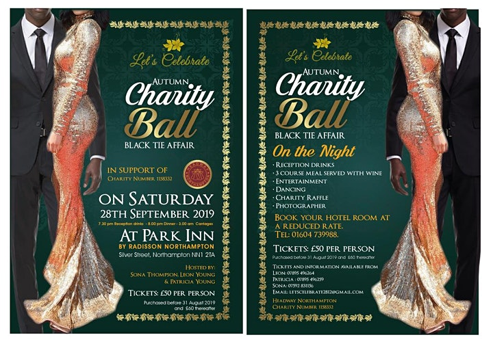 Let's Celebrate Autumn Charity Ball image
