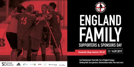 England Family, Supporters and Sponsors Day tickets