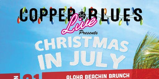 Christmas in July: Aloha Beachin Christmas Brunch