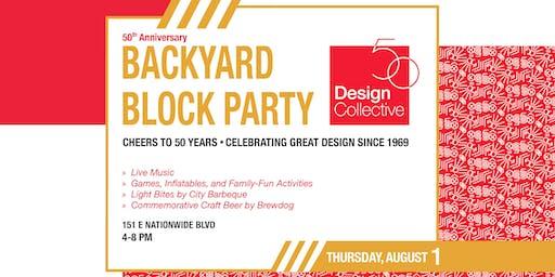 Design Collective 50th Anniversary Block Party