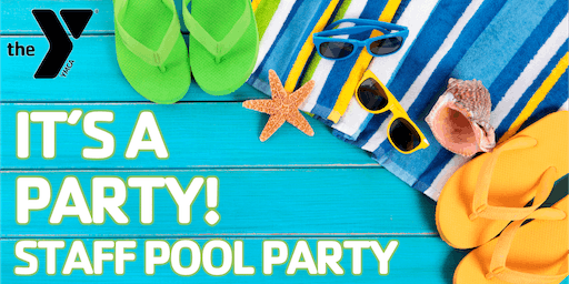 It's a Staff Pool Party 2019!