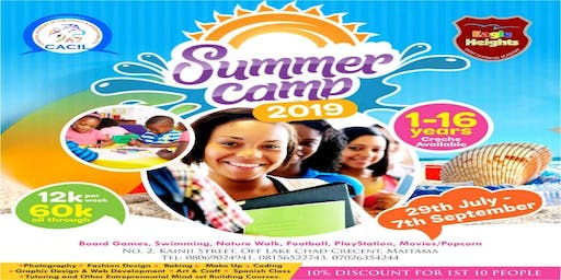Abuja Summer Camp 2019