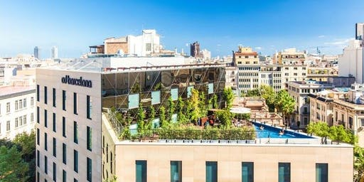 POOL PARTY AT THE ROOFTOP| Hotel OD Barcelona| Free entrance
