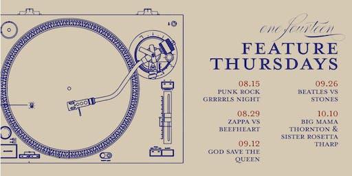 Feature Thursdays at Bar One Fourteen