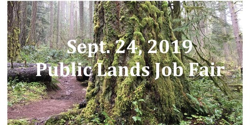 2019 Public Lands Job Fair (Eugene)