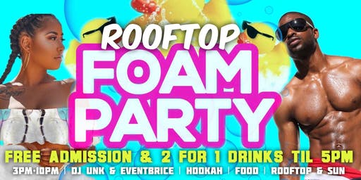 """""""Summer Vibes"""" LGBT Rooftop Foam Party"""