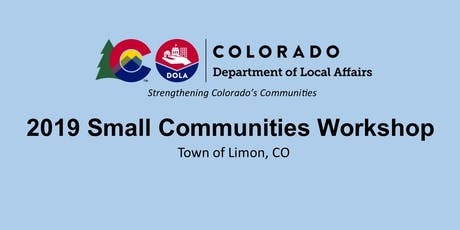 Small Communities Workshop - Town of Limon tickets