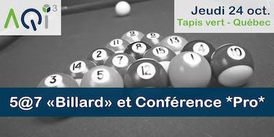 5@7 Billard et Conférence PRO - Québec