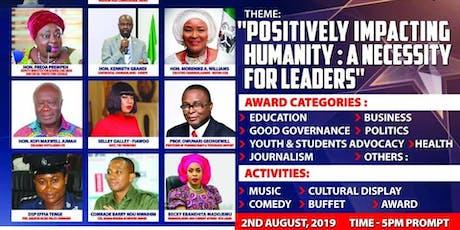 4TH GHANA NIGERIA ACHIEVERS AWARD (GNAA 2019) tickets