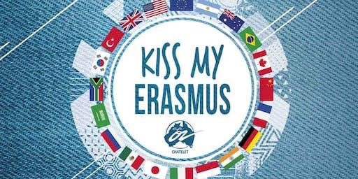 KISS MY ERASMUS at Café Oz
