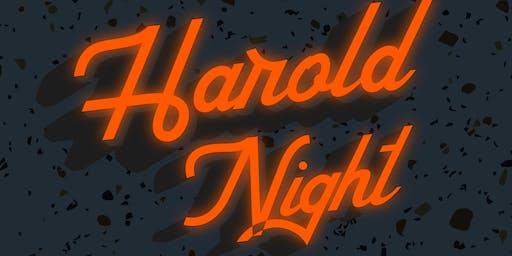 HAROLD NIGHT w/ Devil's Daughter & The Harold Team