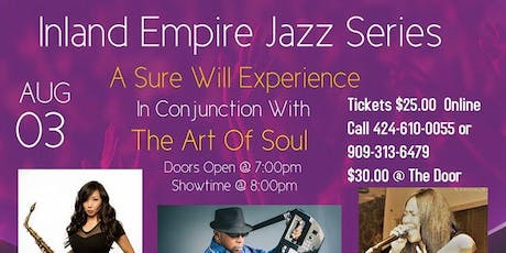 Inland Empire Smooth Jazz Series  & The Art Of Soul tickets